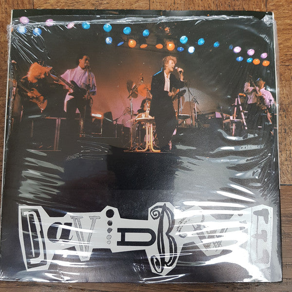 "David Bowie - Press Conference Rome, 25 March '87 Live (7"", S/Sided, Promo, Unofficial, Bla) - USED"