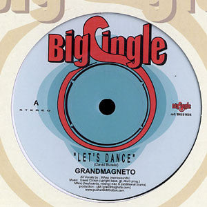 "Grandmagneto* - Let's Dance / Heart Of Glass (7"") - NEW"