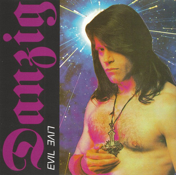 Danzig - Evil Live (CD, Album, Unofficial) - USED