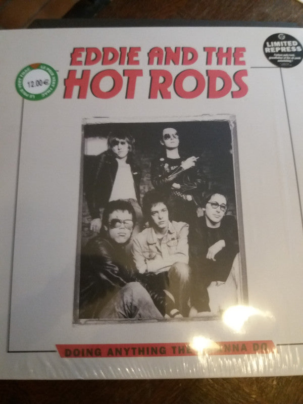 Eddie And The Hot Rods - Doing Anything They Wanna Do (LP, Comp, RE) - NEW