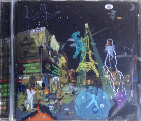 Scientist - The Untouchable (CD, Album) - NEW