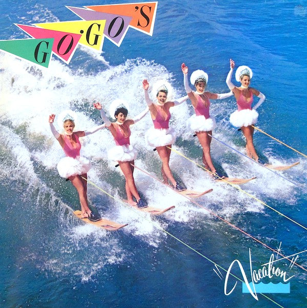 Go-Go's - Vacation (LP, Album) - USED