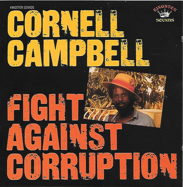 Cornell Campbell - Fight Against Corruption (CD, Album, RE) - NEW