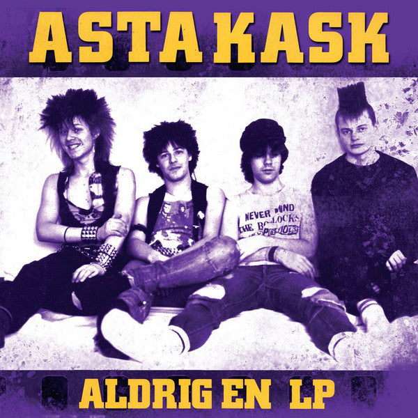 Asta Kask - Aldrig En LP (LP, Album, Ltd, RE, Yel) - NEW