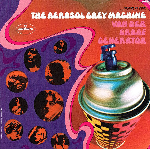 Van Der Graaf Generator - The Aerosol Grey Machine (LP, Album, RE) - USED