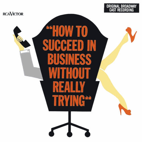Frank Loesser - How To Succeed In Business Without Really Trying (Original Broadway Cast Recording) (CD, Album, RE) - USED