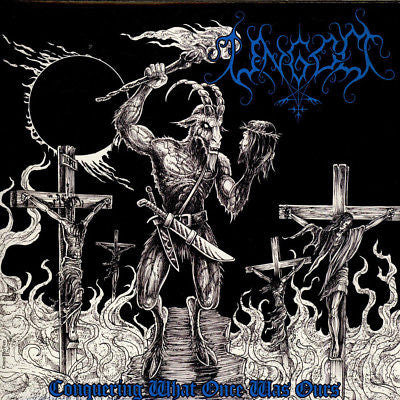 "Ungod - Conquering What Once Was Ours (12"", RE, Blu) - USED"