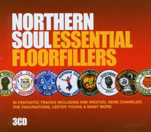Various - Northern Soul Essential Floorfillers (3xCD, Comp + Box) - USED