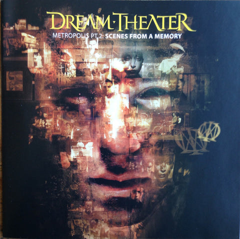Dream Theater - Metropolis Pt. 2: Scenes From A Memory (CD, Album, RP) - USED