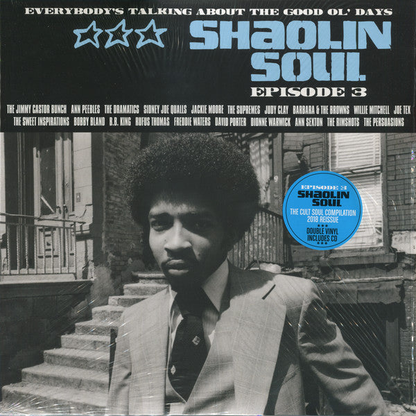Various - Shaolin Soul (Episode 3) (2xLP, Comp, RE + CD, Comp) - NEW