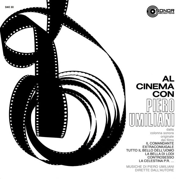 Piero Umiliani - Al Cinema Con Piero Umiliani (LP, Comp, Ltd, RE, 180) - NEW