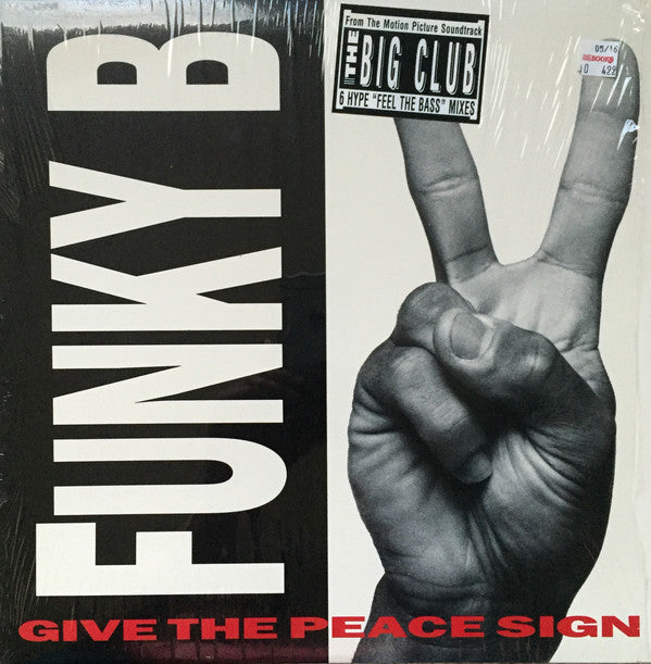 "Funky B. - Give The Peace Sign (12"") - USED"
