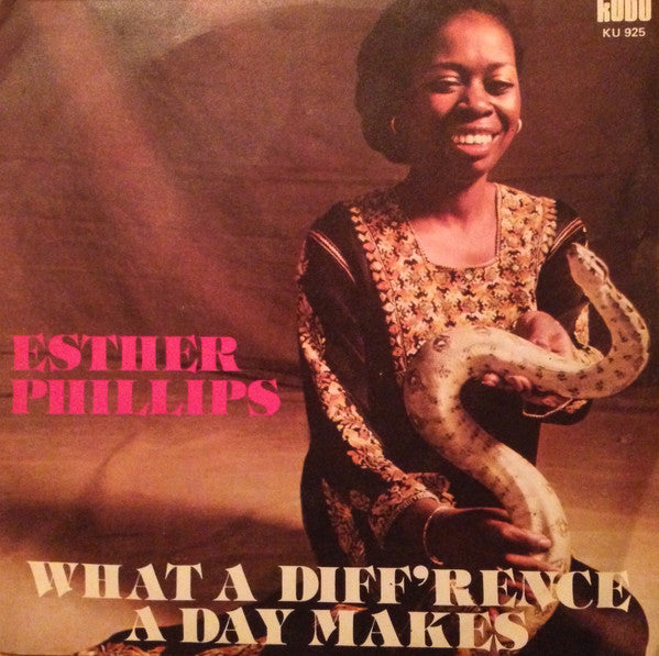 "Esther Phillips - What A Diff'rence A Day Makes (7"", Single) - USED"