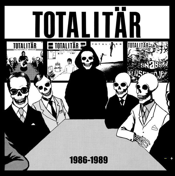 Totalitär - 1986-1989 (LP, Comp) - NEW