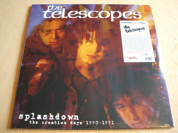 The Telescopes - Splashdown The Creation Days 1990-1991 (2xLP, Comp, Ltd, Num) - NEW