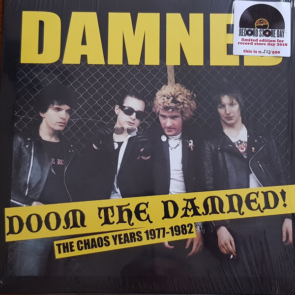 The Damned - The Chaos Years 1977-1982: Doom The Damned! (LP, Comp, Ltd, RE) - NEW