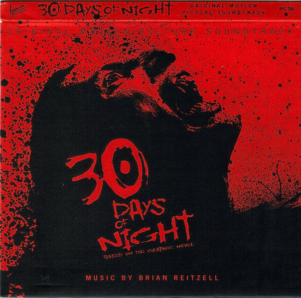 Brian Reitzell - 30 Days Of Night  (Original Motion Picture Soundtrack) (CD, Album) - NEW