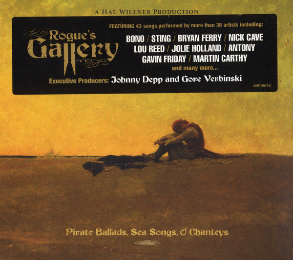 Various - Rogue's Gallery: Pirate Ballads, Sea Songs, & Chanteys (2xCD, Album) - USED