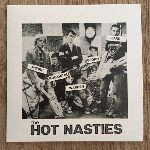 "The Hot Nasties - The Ballad of the Social Blemishes (7"", EP) - NEW"