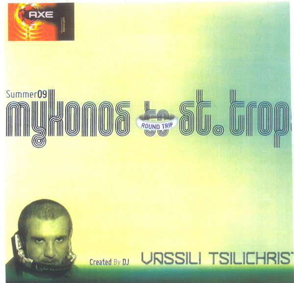 Various Created By Vassili Tsilichristos - Round Trip - Mykonos To St. Tropez - Summer 09 (2xCD, Comp) - USED