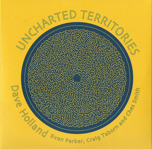 Dave Holland, Evan Parker, Craig Taborn And Ches Smith - Uncharted Territories (2xCD, Album) - NEW