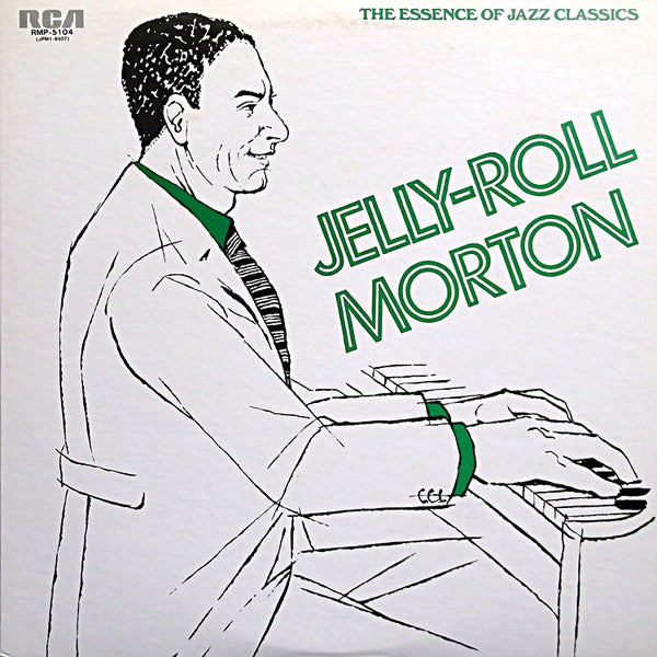Jelly Roll Morton - The Essence of Jazz Classics, Vol.4 (LP, Comp, Promo) - USED