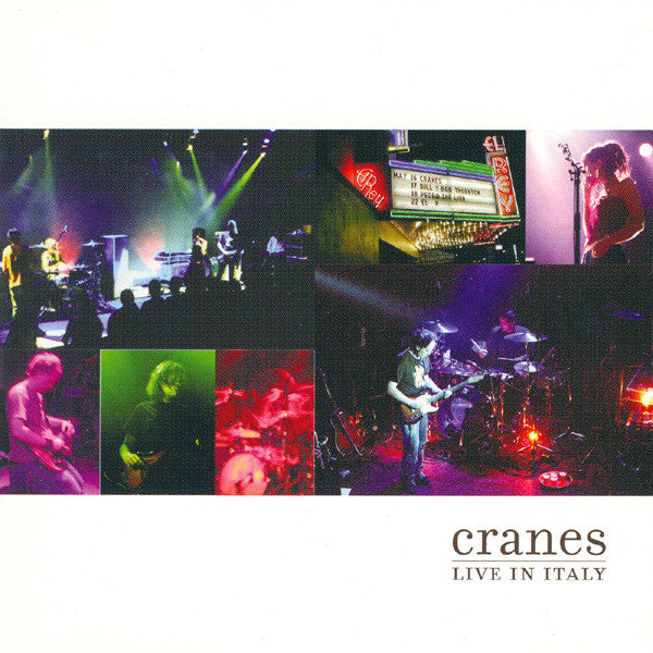 Cranes - Live In Italy (CD, Album, Copy Prot.) - NEW