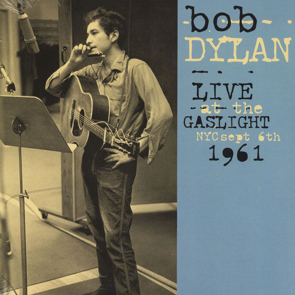 Bob Dylan - Live At The Gaslight, NYC, Sept 6th, 1961 (LP, Album, Ltd, Unofficial) - NEW