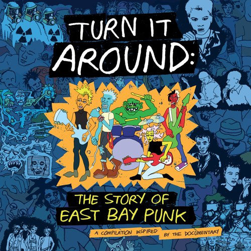 Various - Turn It Around: The Story Of East Bay Punk (2xLP, Comp, Blu) - NEW