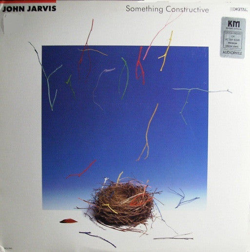 John Jarvis - Something Constructive (LP, Album) - USED