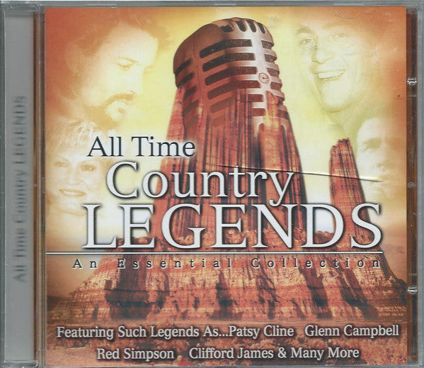 Various - All Time Country Legends (CD, Album) - USED