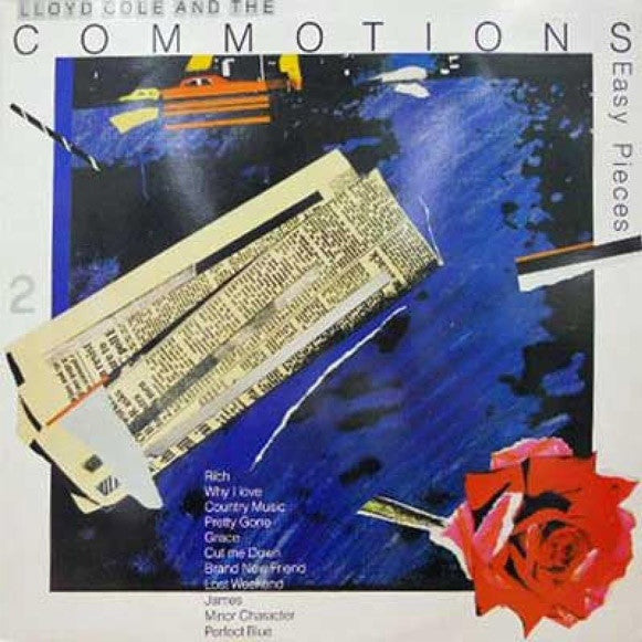 Lloyd Cole And The Commotions* - Easy Pieces (LP, Album) - USED