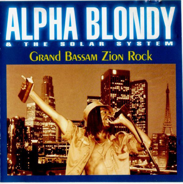 Alpha Blondy & The Solar System - Grand Bassam Zion Rock (CD, Album) - USED