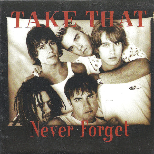 Take That - Never Forget (CD, Single) - NEW
