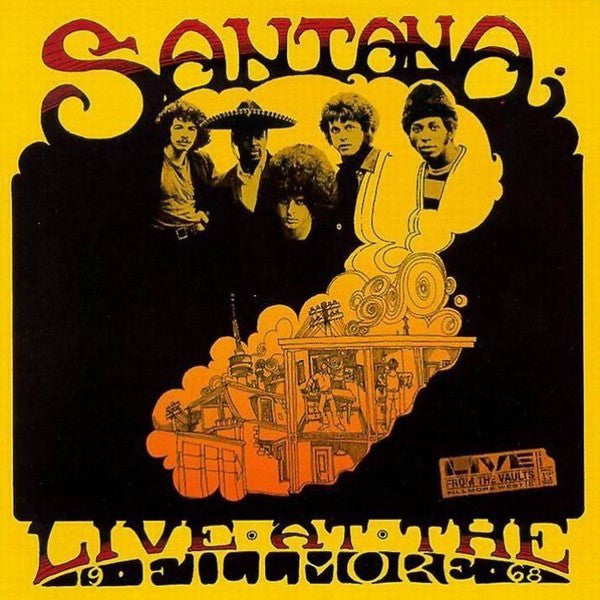 Santana - Live At The Fillmore '68 (2xCD, Album) - USED