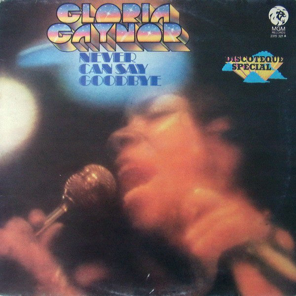Gloria Gaynor - Never Can Say Goodbye (LP, Album) - USED