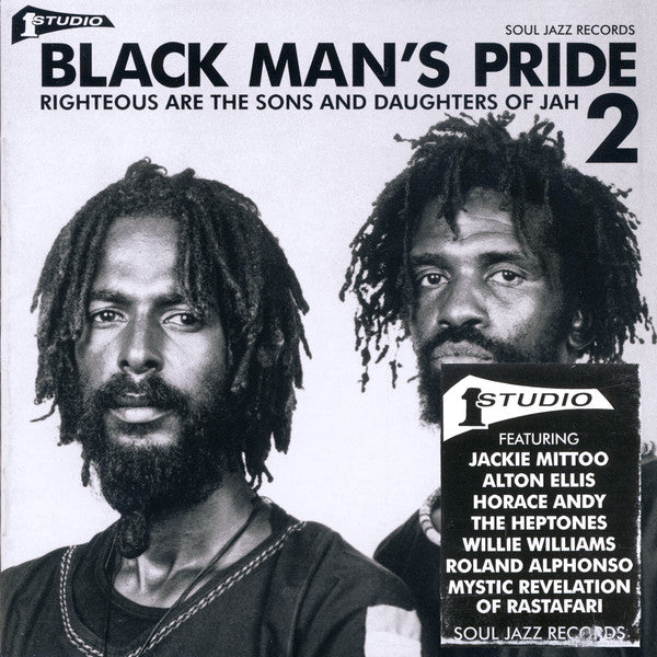 Various - Black Man's Pride 2 (Righteous Are The Sons And Daughters Of Jah) (CD, Comp) - NEW