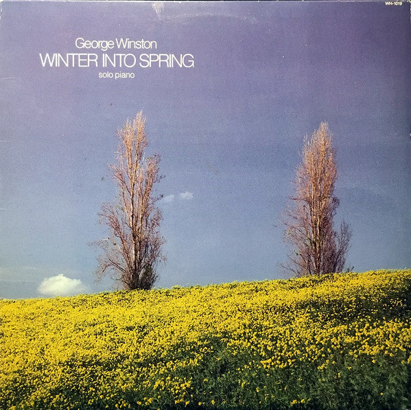 George Winston - Winter Into Spring (Solo Piano) (LP, Album) - USED