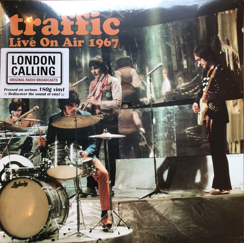 Traffic - Live On Air 1967 (LP, Ltd, Unofficial) - NEW