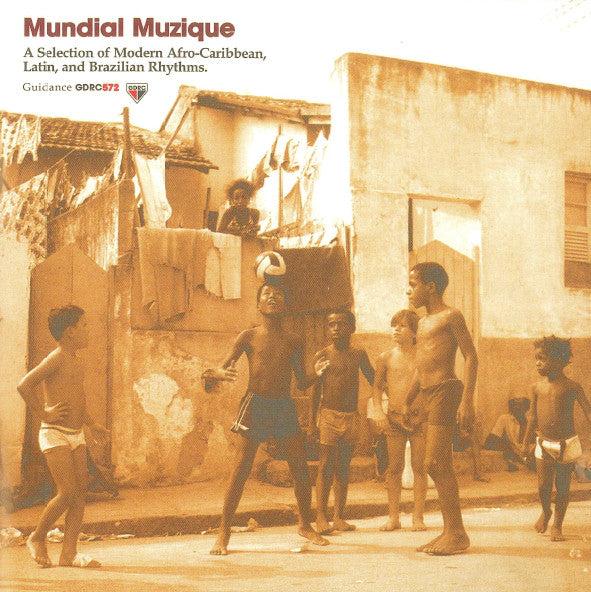 Various - Mundial Muzique (CD, Comp) - USED
