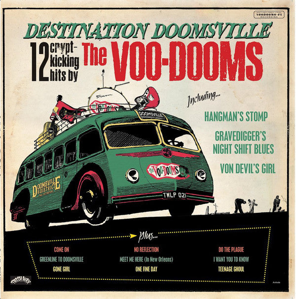 The Voo-Dooms - Destination Doomsville (LP, Ltd, Spl) - NEW