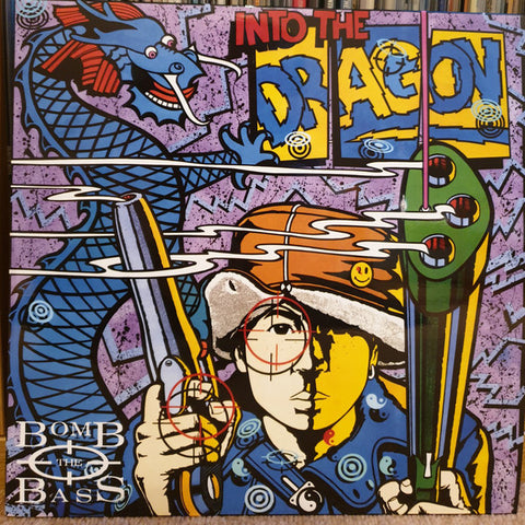 Bomb The Bass - Into The Dragon (LP, Album, Ltd, Num, RE, Blu) - NEW