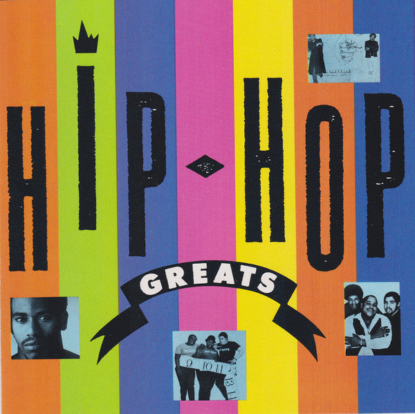 Various - Hip-Hop Greats (CD, Comp, RE) - USED