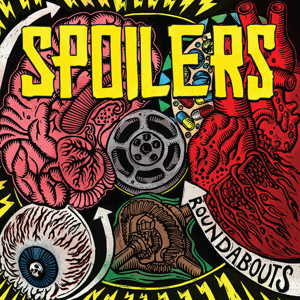 Spoilers (9) - Roundabouts (LP, Album, Red) - NEW