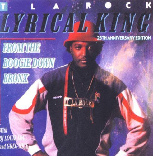 T La Rock - Lyrical King (From The Boogie Down Bronx) (CD, Album) - USED