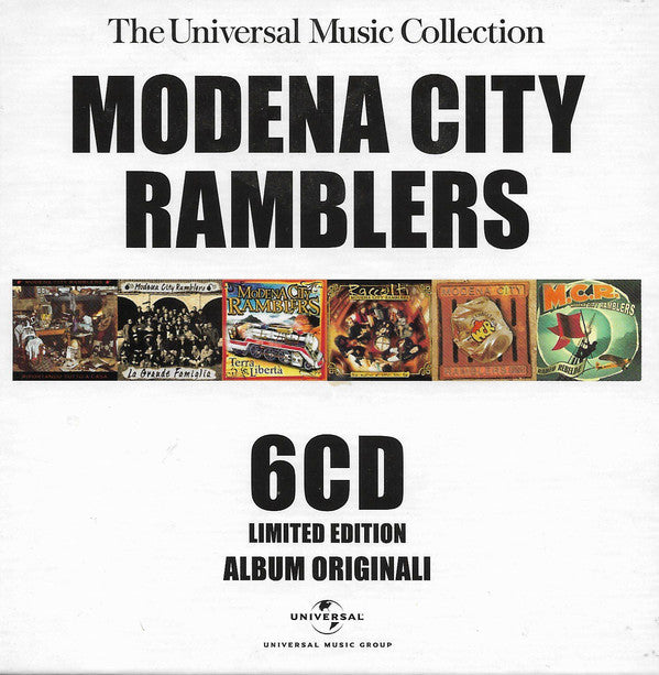 Modena City Ramblers - The Universal Music Collection - 6 CD Limited Edition Album Originali (6xCD, Comp, Ltd, RM) - USED