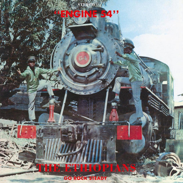 The Ethiopians - Engine 54 (LP, Album, Ltd, Num, RE, Ora) - NEW