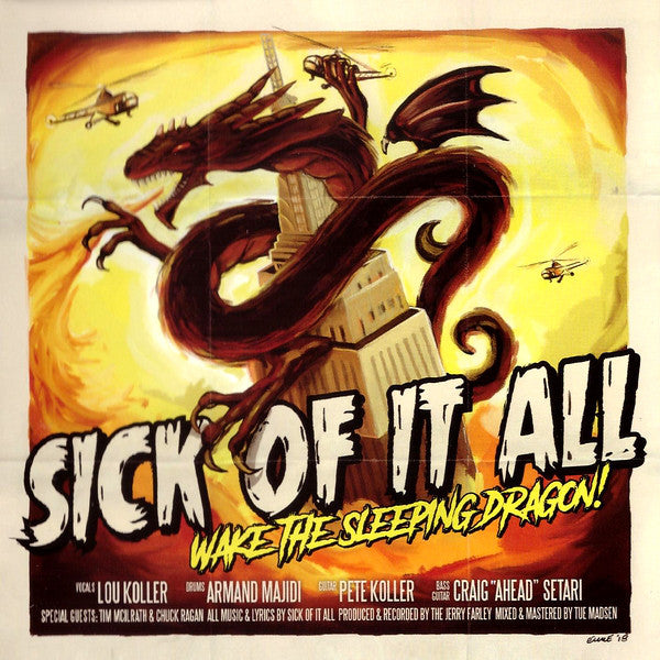 Sick Of It All - Wake The Sleeping Dragon! (CD, Album) - NEW