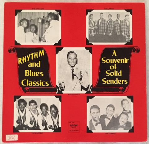 Various - Rhythm And Blues Clasics A Souvenir Of Solid Senders (LP, Comp, Bla) - USED