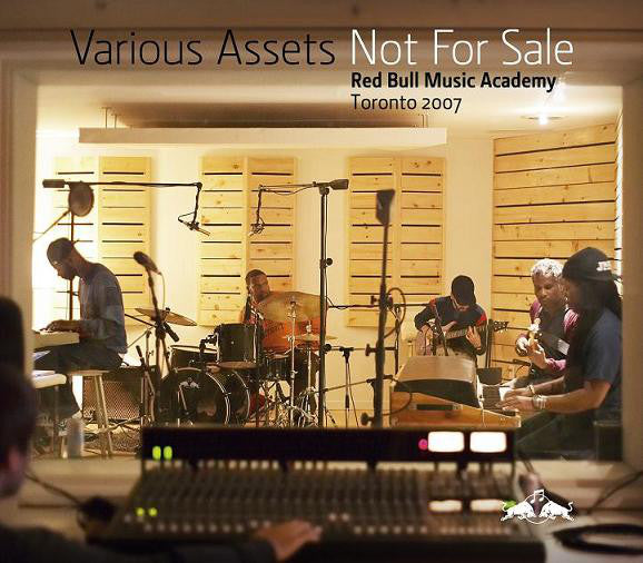 Various - Various Assets - Not For Sale: Red Bull Music Academy Toronto 2007 (2xCD, Comp, Promo) - USED